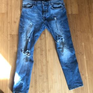 Zara Mens Jeans